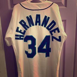 Felix Hernandez mariners baseball jersey